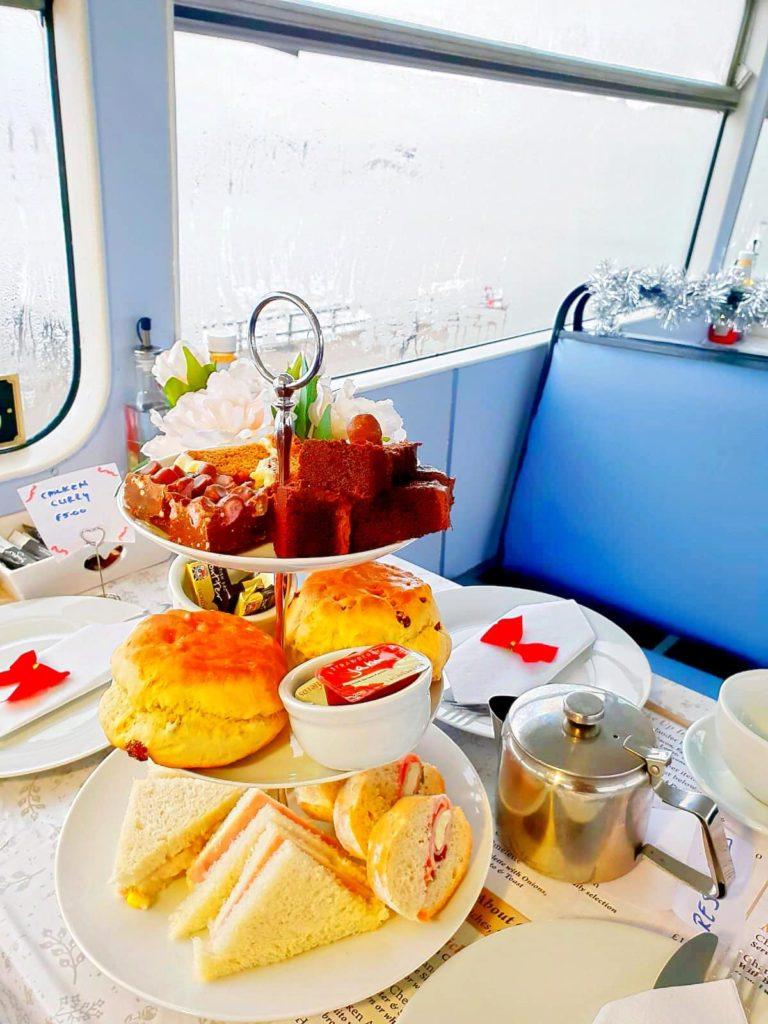 Afternoon Tea Aberdeen - The Highlander Bus Cafe