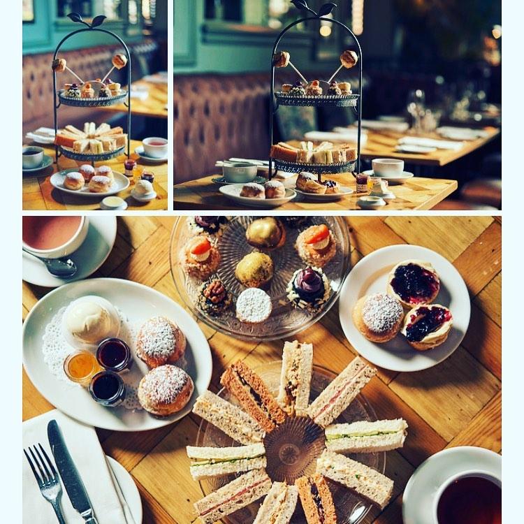 Afternoon Tea Edinburgh - Bistro Du Vin