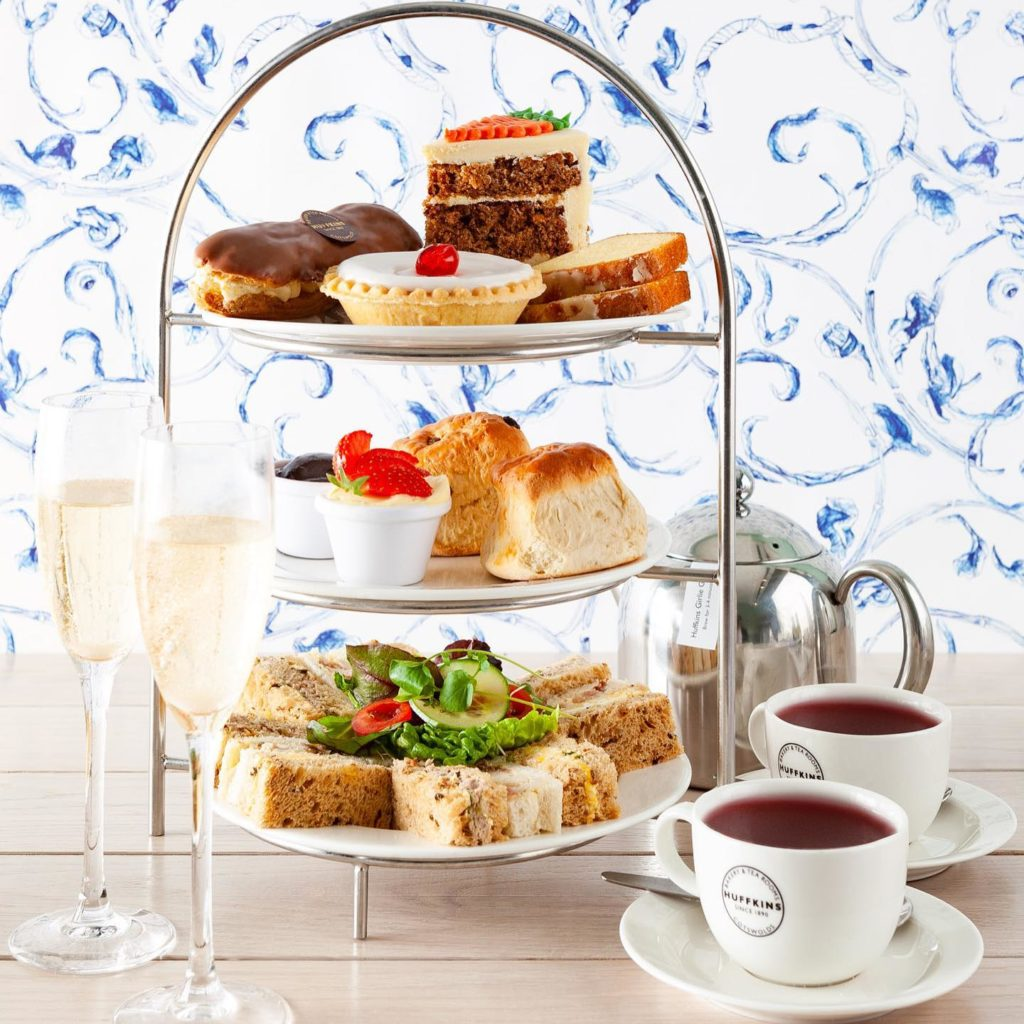 Afternoon Tea Cotswolds - Huffkins