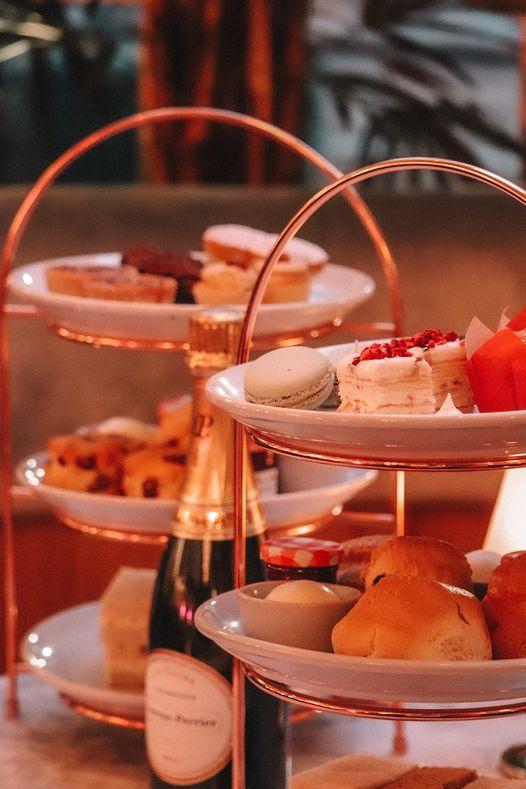 Afternoon Tea Edinburgh - Le Monde