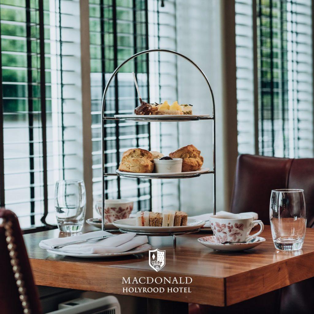 Afternoon Tea Edinburgh - MacDonald Holyrood Hotel