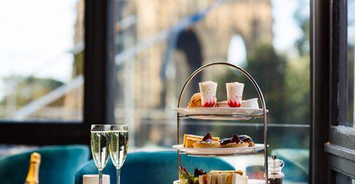 Afternoon Tea Edinburgh - Scotts on Princes Street