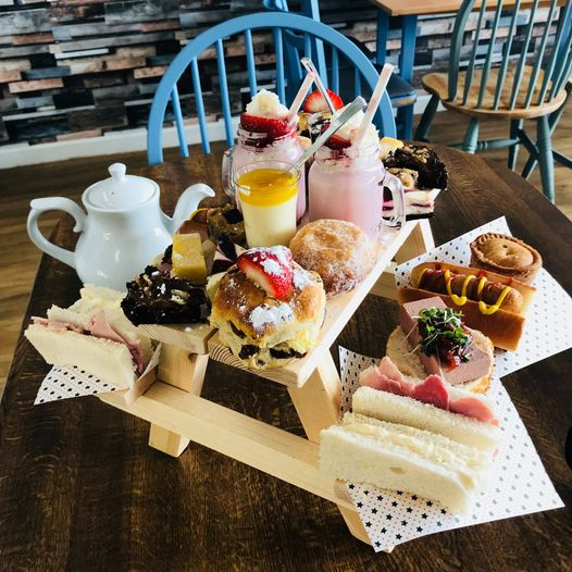 Afternoon Tea Bolton - Old Bank Cafe