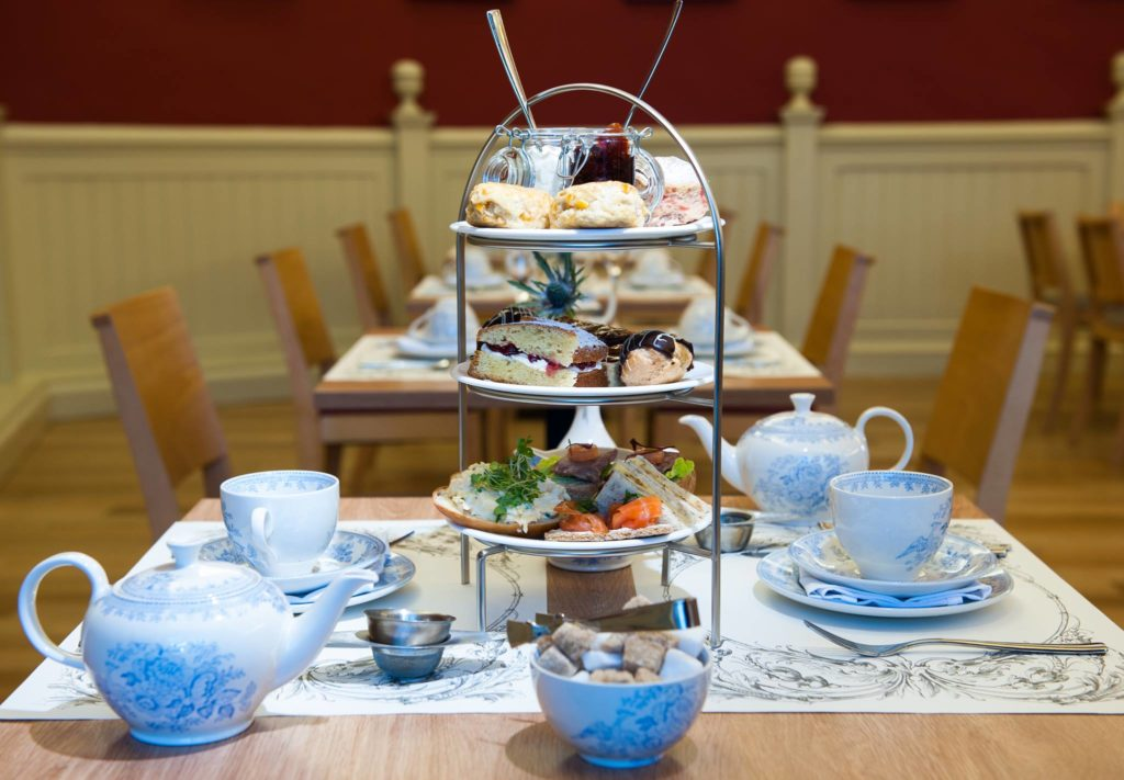 Afternoon Tea Edinburgh - The Palace of Holyrood House