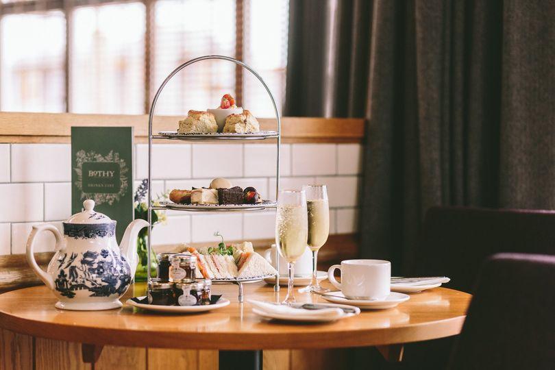 Afternoon Tea Aberdeen - Palm Court Hotel