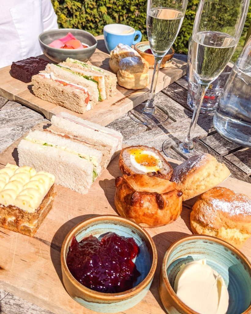 Afternoon Tea Cotswolds - The Painswick Hotel