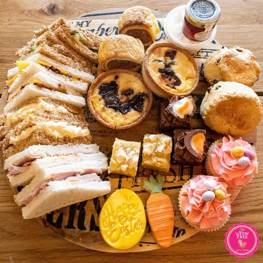 Afternoon Tea Scarborough - The Yew Tree Cafe and Bistro
