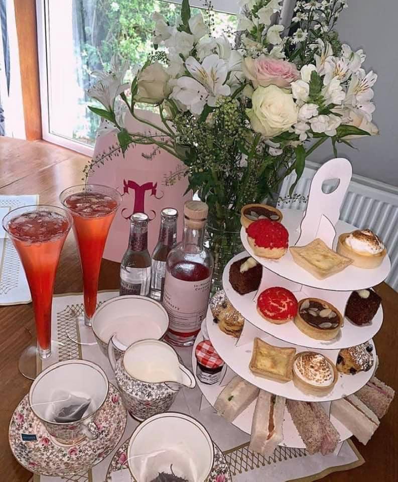 Afternoon Tea Edinburgh - Tigerlily