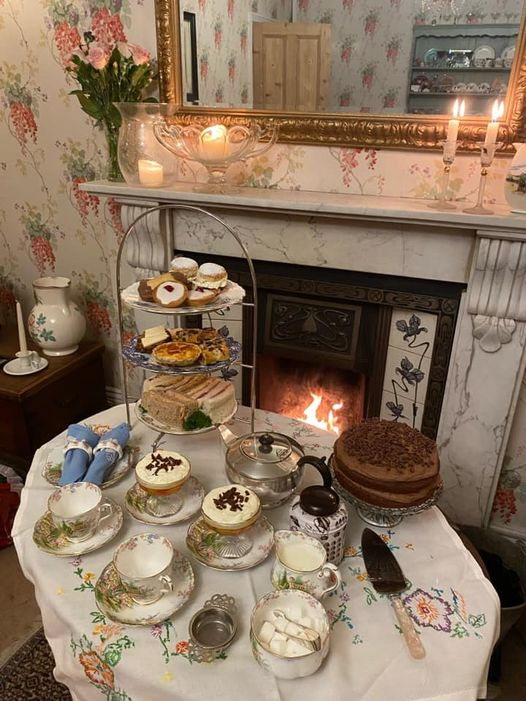 Afternoon Tea Scarborough - Vintage Service