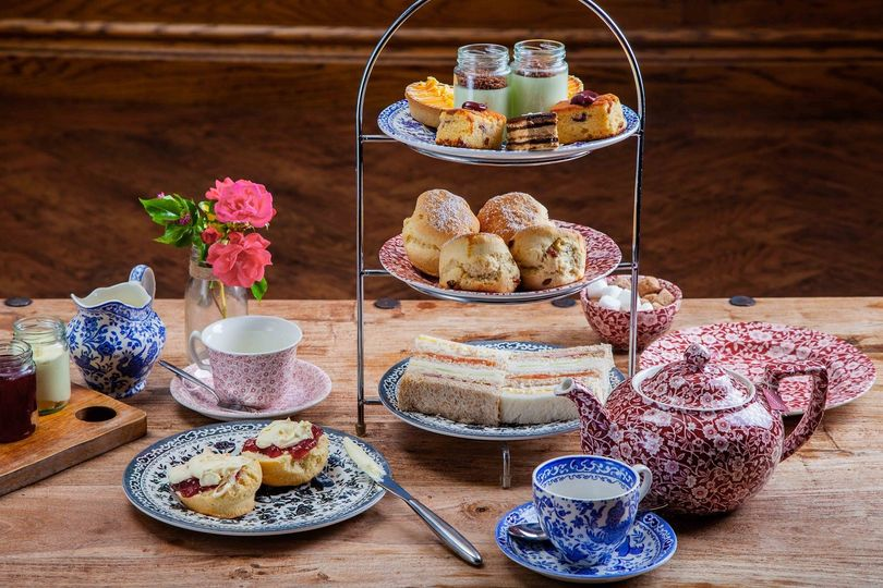 Afternoon Tea New Forest - Balmer Lawn Hotel