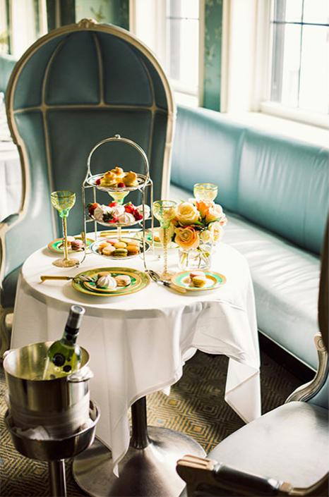 Afternoon Tea NYC - Bergdorf Goodman
