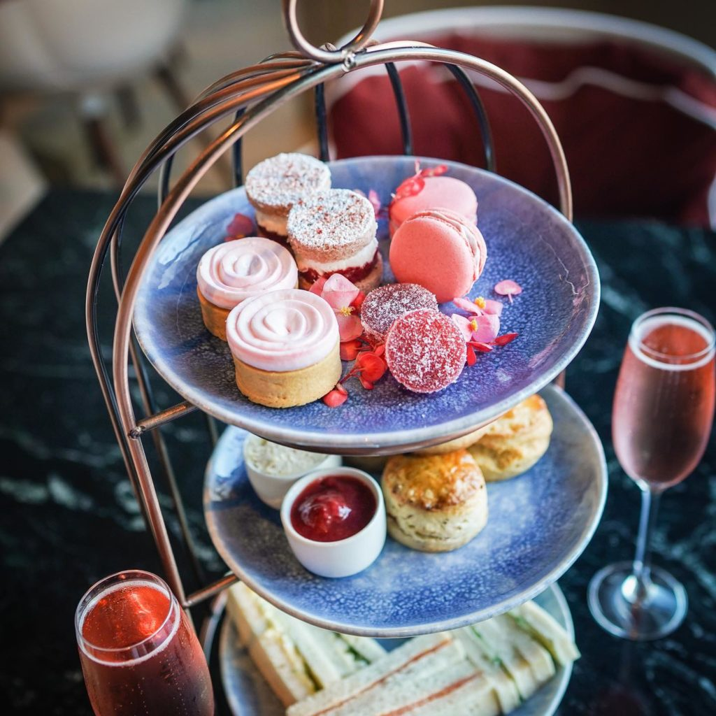 Afternoon Tea NYC - Bluebird London