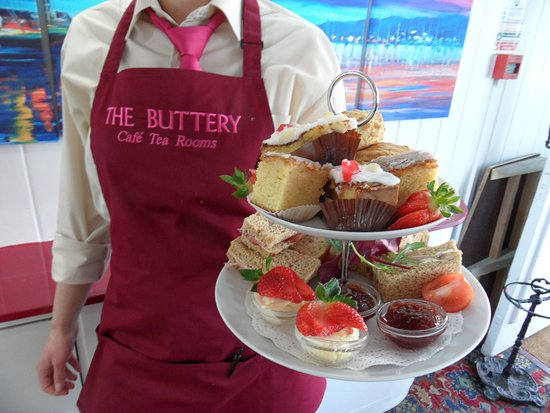 Afternoon Tea New Forest - The Buttery Tearooms