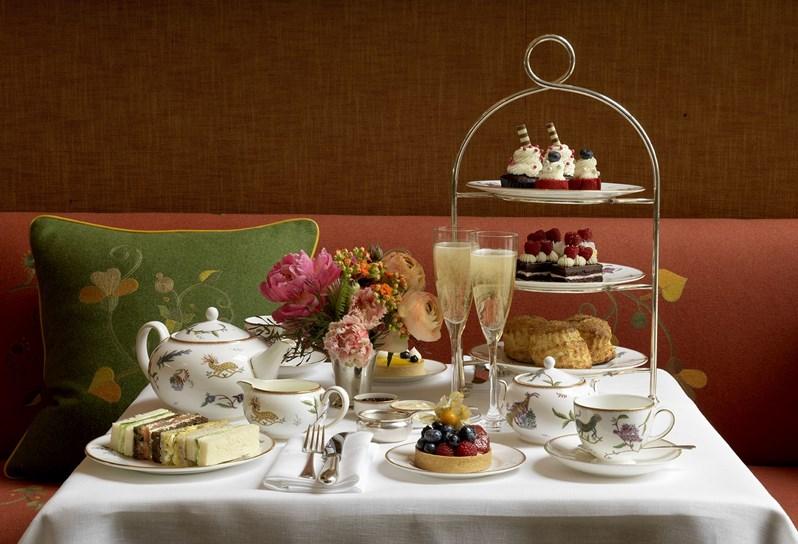 Afternoon Tea NYC - Crosby Street Hotel