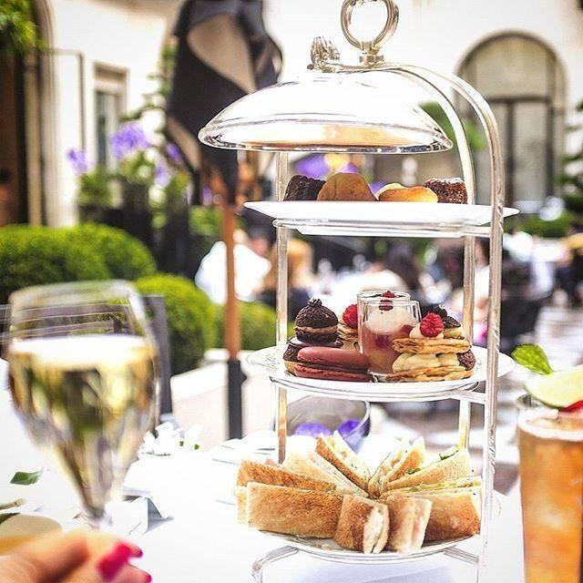 Afternoon Tea NYC - Four Seasons Hotel