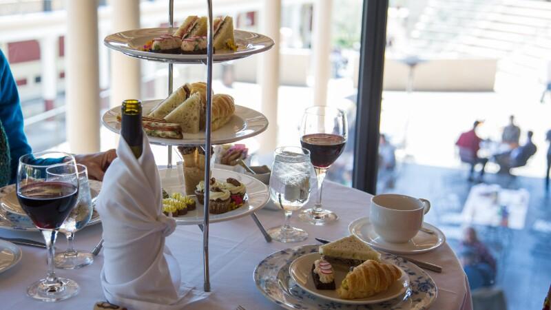 Afternoon tea Los Angeles - Getty Villa's Tea By The Sea