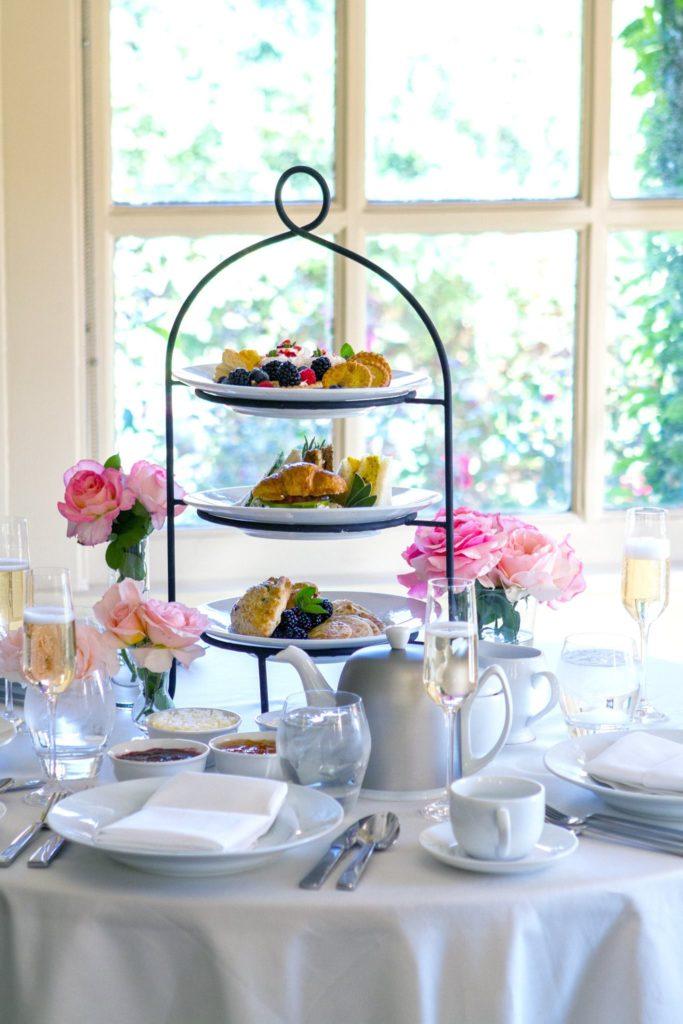 Afternoon Tea Los Angeles - Huntington Rose Garden Tea Room