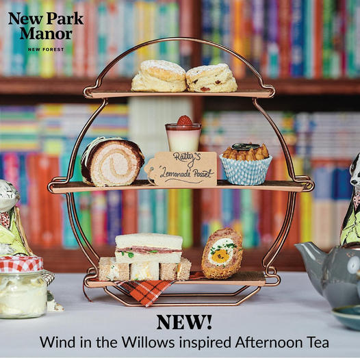 Afternoon Tea New Forest - New Park Manor Hotel