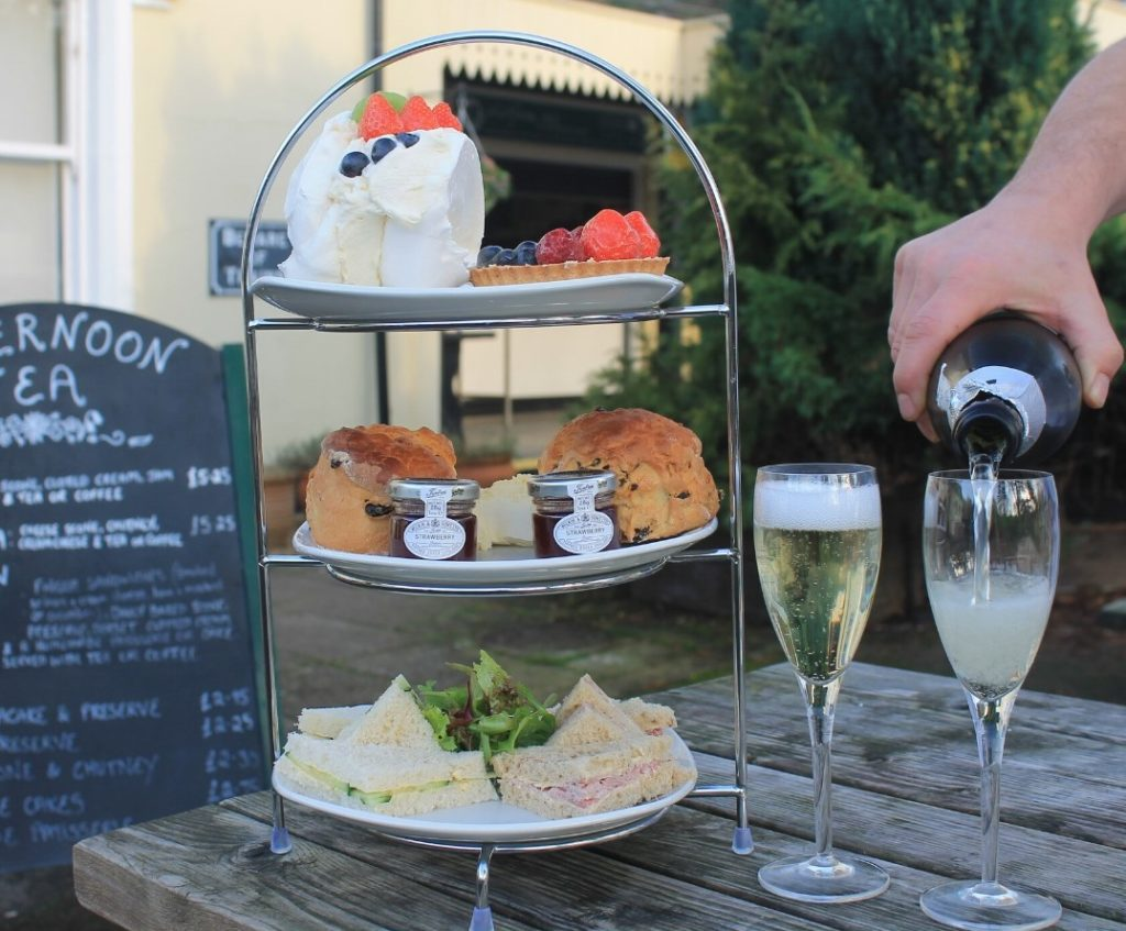 Afternoon Tea New Forest - The Old Station Tea Rooms