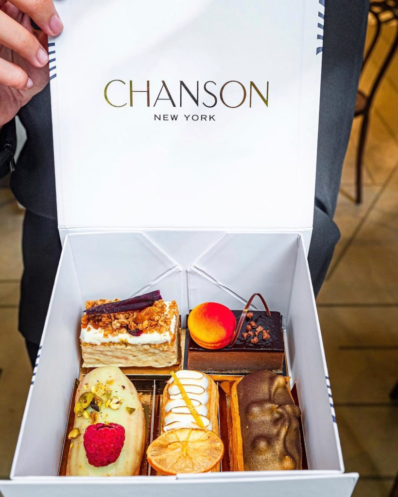Afternoon Tea NYC - Patisserie Chanson