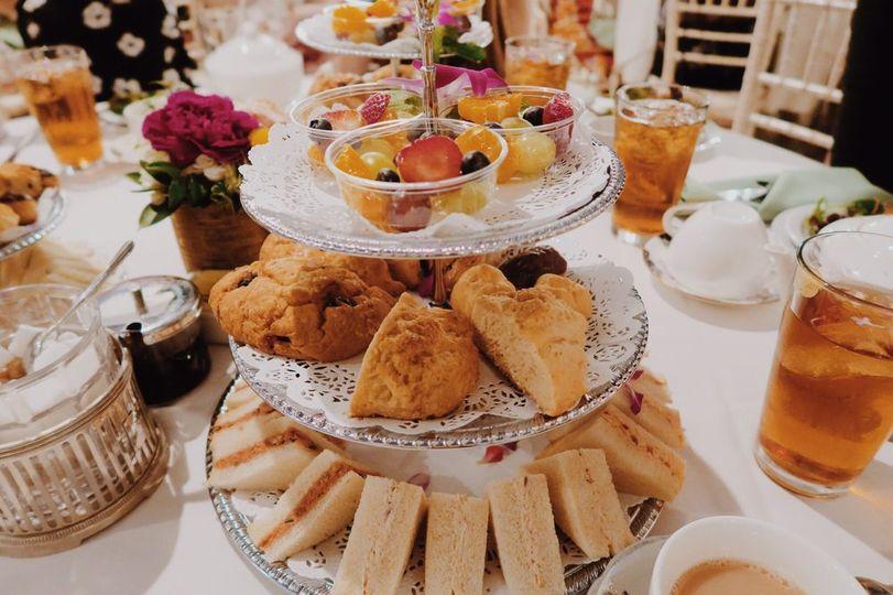 Afternoon Tea Los Angeles - Tea Rose Garden