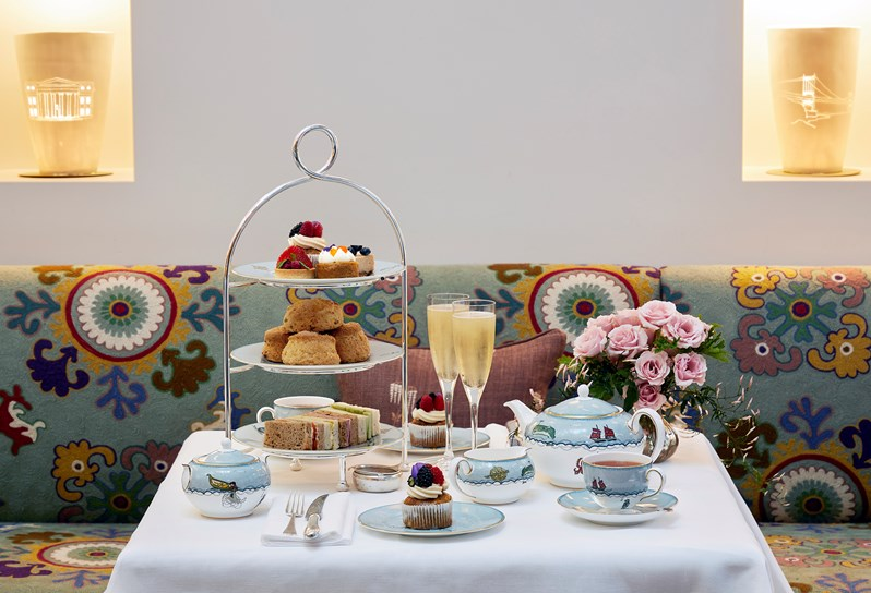 Afternoon Tea NYC - The Whitby Hotel