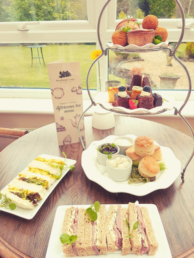 Afternoon Tea New Forest - The Woodlands Lodge Hotel