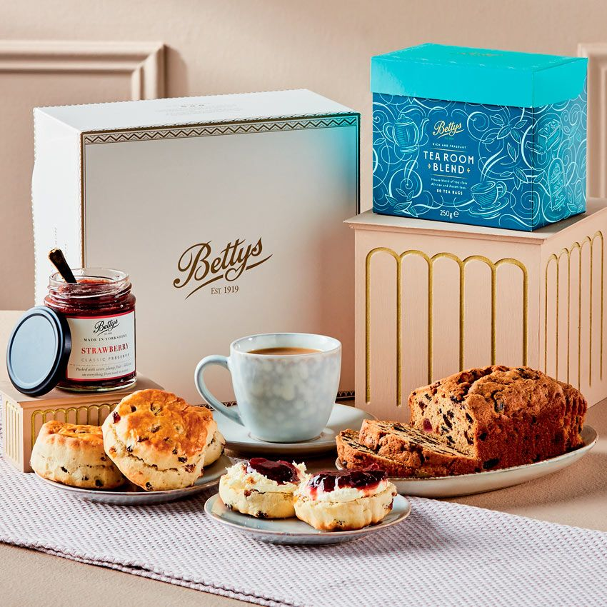 afternoon Tea delivery - Betty's Tea & Scones