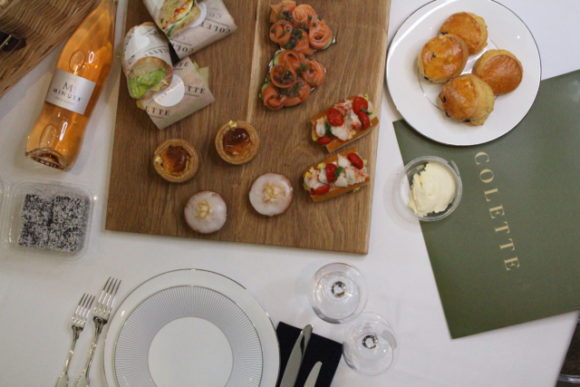 afternoon tea delivery - Colette
