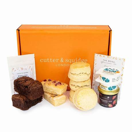 afternoon tea delivery - Cutter and Squidge