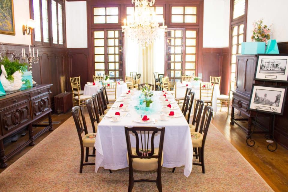 afternoon tea Dallas - The Alexander Mansion