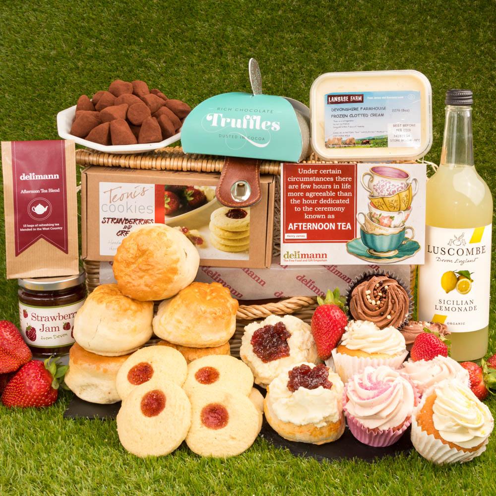 afternoon tea delivery - Delimann Picnic Cream tea Feast