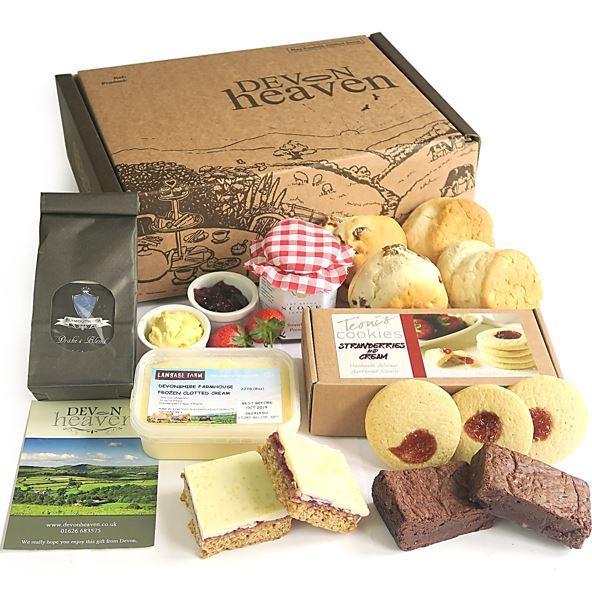 afternoon tea delivery - Devon heaven