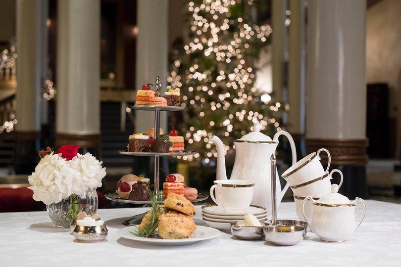 afternoon tea Austin - Driskill Hotel