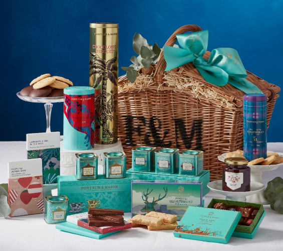 afternoon tea delivery - Fortnum & Mason