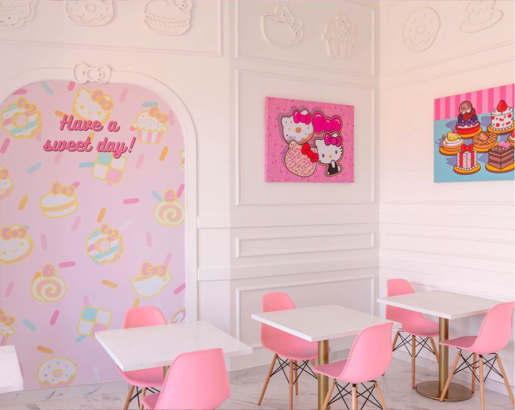 afternoon tea Los Angeles - Hello Kitty Grand Cafe
