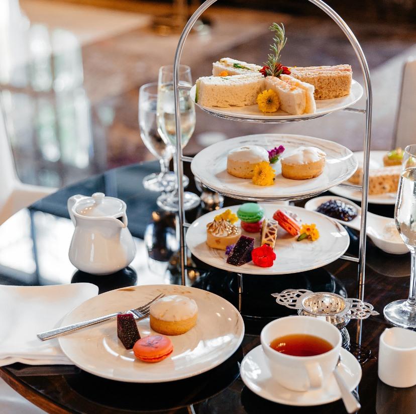 afternoon tea Dallas - Hotel Crescent Court