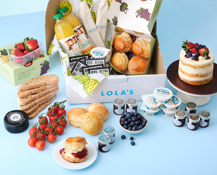 afternoon tea delivery Lola's cupcakes