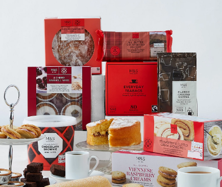 afternoon tea delivery - Marks & Spencers