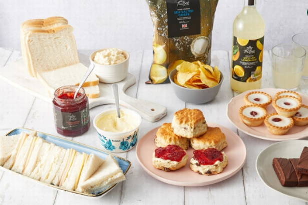 afternoon tea delivery - Morrisons Food Boxes Afternoon Tea