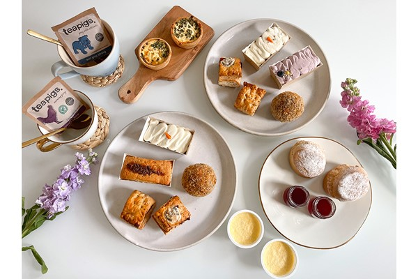 afternoon tea delivery - piglets pantry afternoon tea