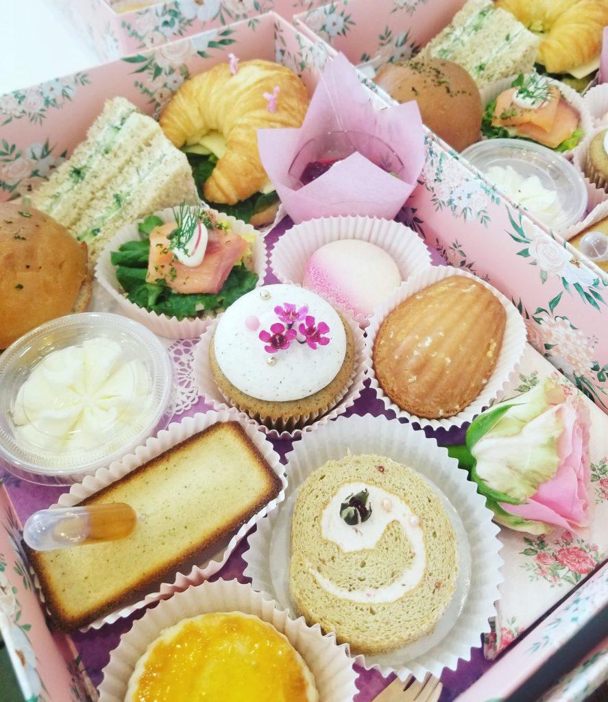 afternoon tea Los Angeles - Rose & Blanc Tea Room