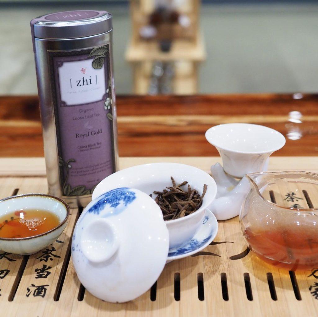 afternoon tea Austin - Zhi Tea
