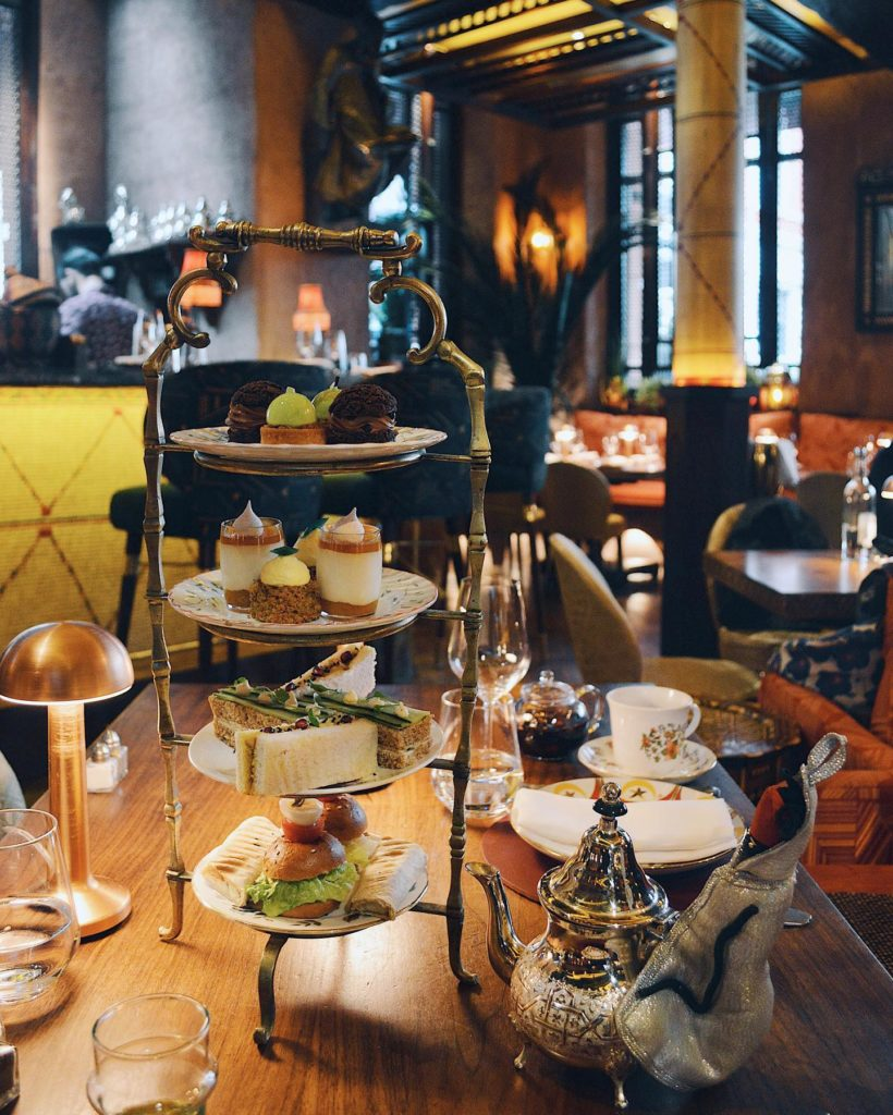afternoon tea london - Momo