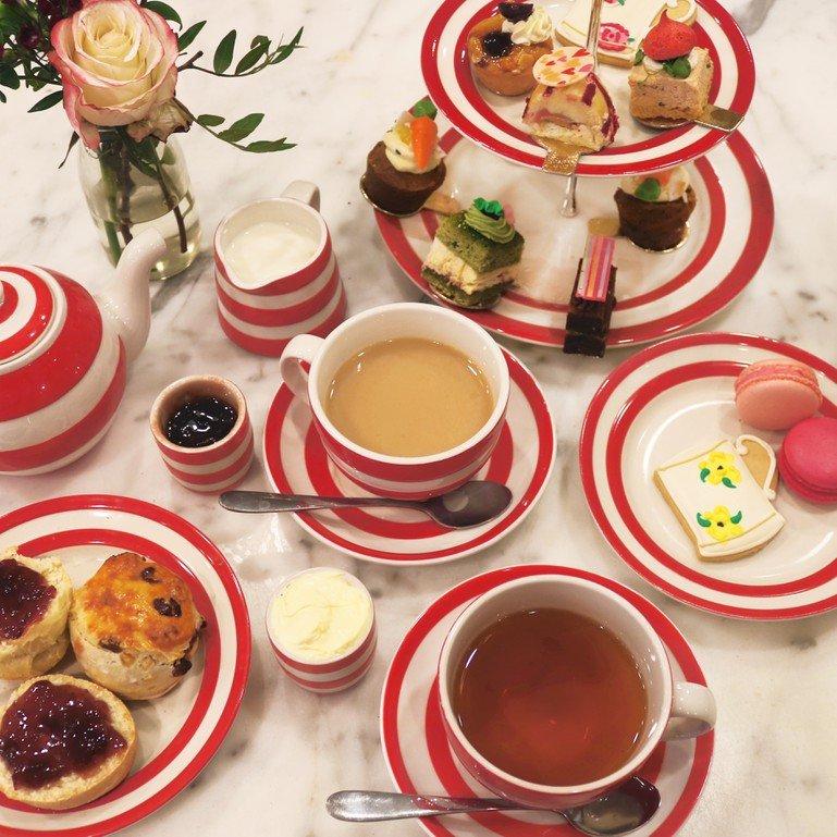 afternoon tea London - Biscuiteers