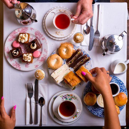 afternoon tea London - Boulevard Brasserie