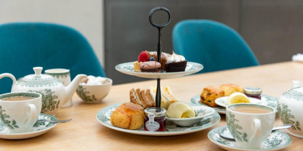 afternoon tea London - Great Court Restaurant British Museum