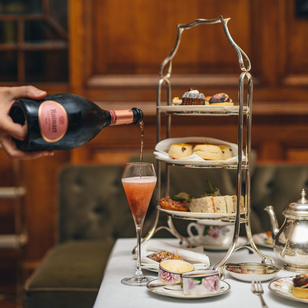 afternoon tea London - The Drawing Room