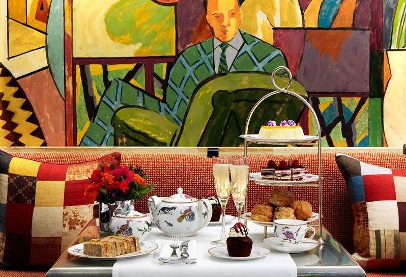 afternoon tea London - Charlotte Street Hotel