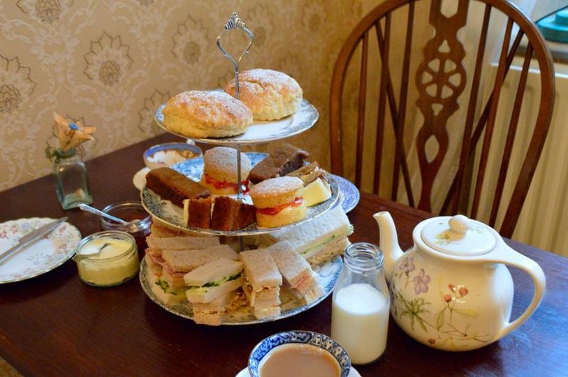 afternoon tea London - Coffee Craft